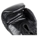 Joya Italië – Fight Fast Kickbokshandschoenen – Zwart – Met Veter-542345
