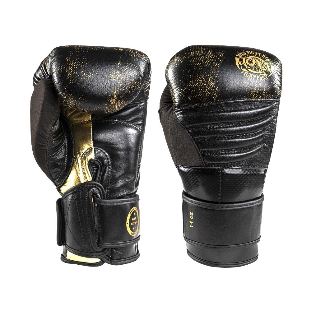 Joya Kickbokshandschoen Gold Falcon - Leer-0