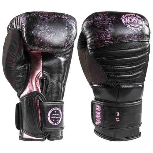 Joya Kickbokshandschoen Pink Falcon - Leer-0