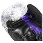Joya Kickbokshandschoen Purple Falcon – Leer – Zwart-542333