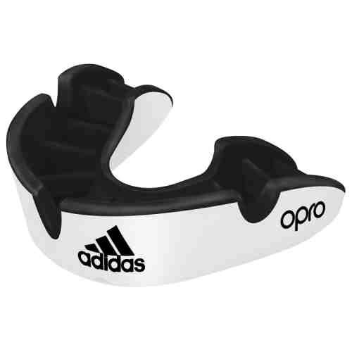 Adidas Gebitsbeschermer Gen4 Silver - Wit Senior-0