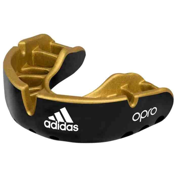 Adidas Gebitsbeschermer Gen4 Gold - Zwart Senior-0