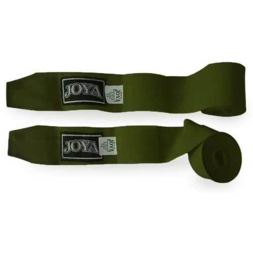 Joya Velcro Fight Fast Green Boksbandage - Groen - 280cm-0