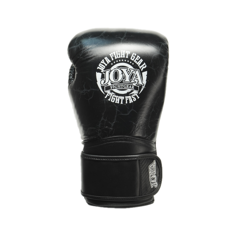 Joya Thailand – Fight Fast Kickbokshandschoenen – Leer – Marmer Zwart-542125