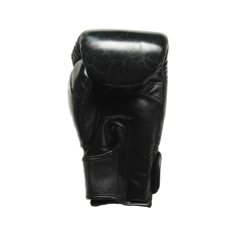 Joya Thailand - Fight Fast Kickbokshandschoenen - Leer - Marmer Zwart-542126