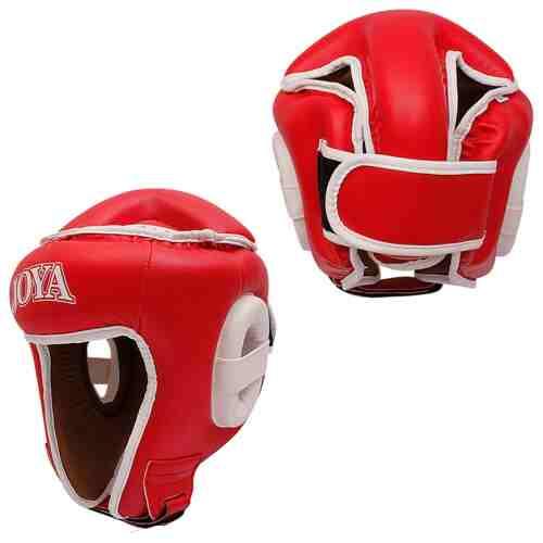 Joya Combat Hoofdbeschermer (open) Rood-0