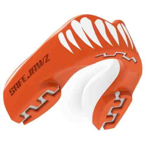 Safejawz Gebitsbeschermer Extro - Viper Rood/Wit Senior-0