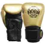 Joya Thailand – Fight Fast Kickbokshandschoenen – Leer – Goud-0