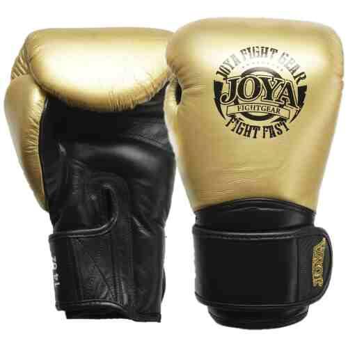 Joya Thailand - Fight Fast Kickbokshandschoenen - Leer - Goud-0