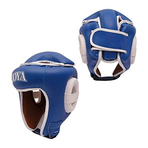 Joya Combat Hoofdbeschermer (open) Blauw-0