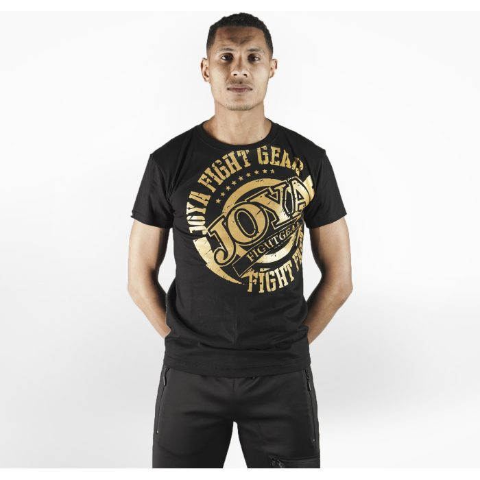 Joya Logo T - Shirt - Zwart met goud-542196