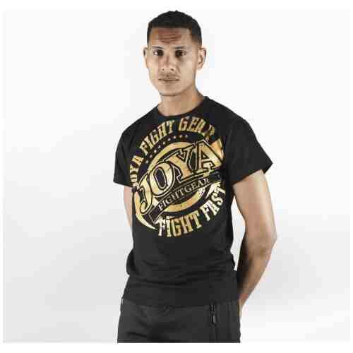Joya Logo T - Shirt - Zwart met goud-0