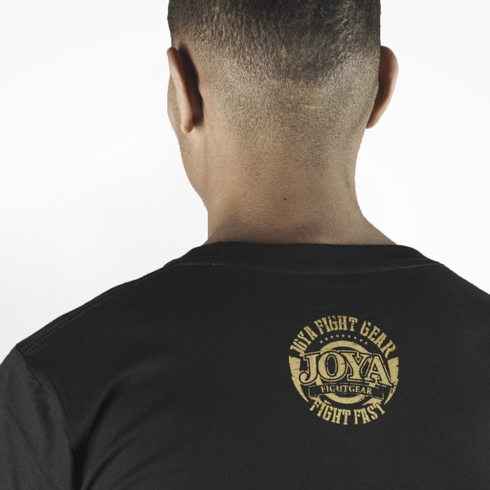 Joya Logo T - Shirt - Zwart met goud-542195