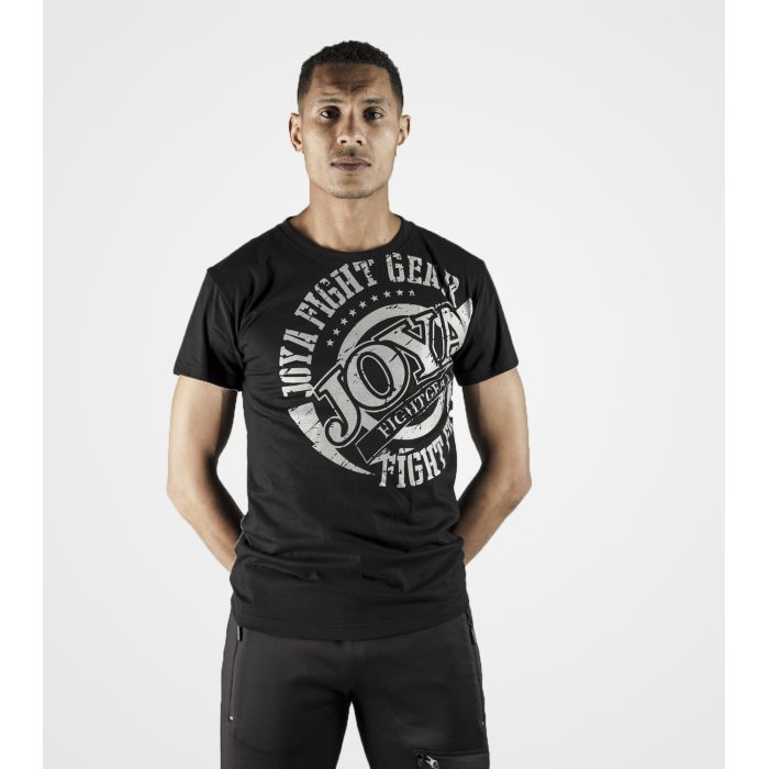 Joya Logo T - Shirt - Zwart met wit-0