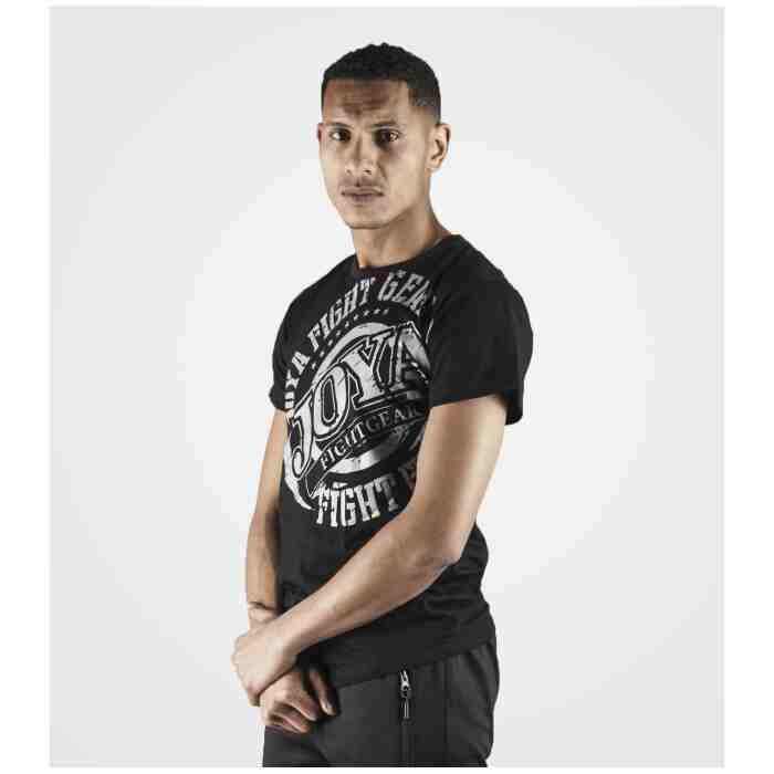 Joya Logo T - Shirt - Zwart met wit-542197