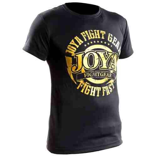 Joya Active Dry Shirt - Zwart met goud-0