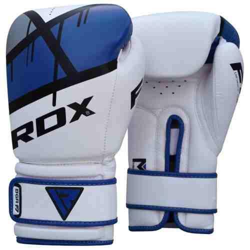 RDX Sports Bokshandschoenen BGR-F7 - Blauw-0
