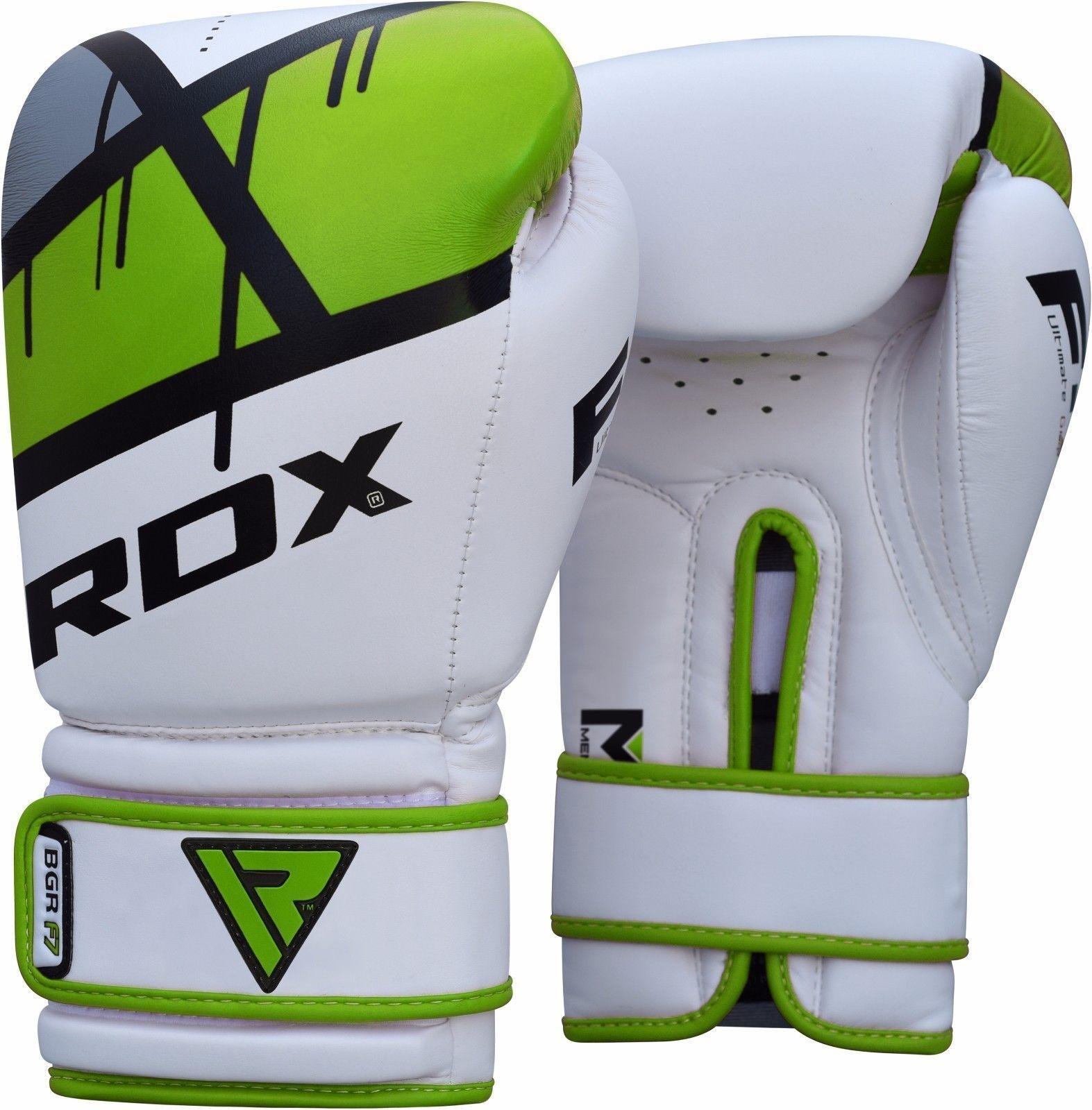 RDX Sports Bokshandschoenen BGR-F7 – Rood-538605