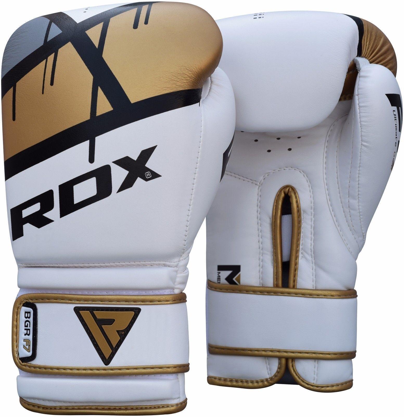 RDX Sports Bokshandschoenen BGR-F7 - Goud-0