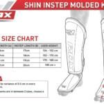 RDX Sports Shin Instep Molded KING – Zwart-535863