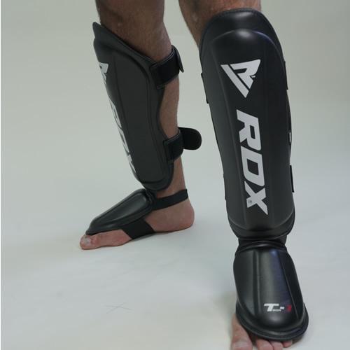 RDX Sports Shin Instep Molded KING – Zwart-535859