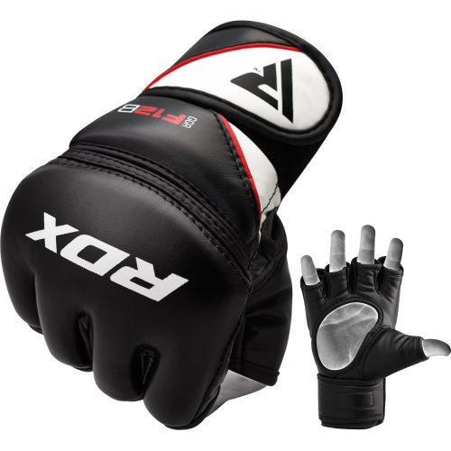 RDX Sports Grappling Gloves Model GGRF-12 - Zwart-0