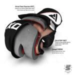 RDX Sports Grappling Gloves Model GGRF-12 – Roze-535950