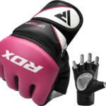 RDX Sports Grappling Gloves Model GGRF-12 – Roze-0
