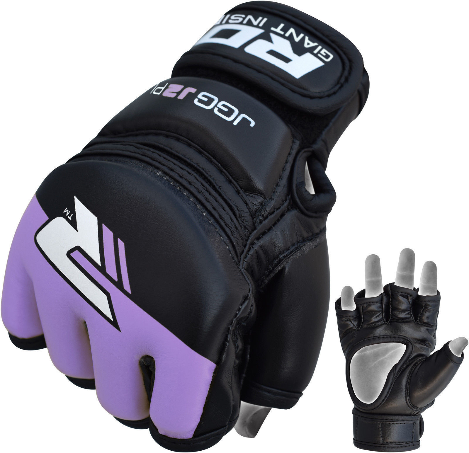 RDX Grappling Gloves Kids - Zwart met groen-538689