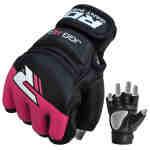 RDX Grappling Gloves Kids – Zwart met roze-0