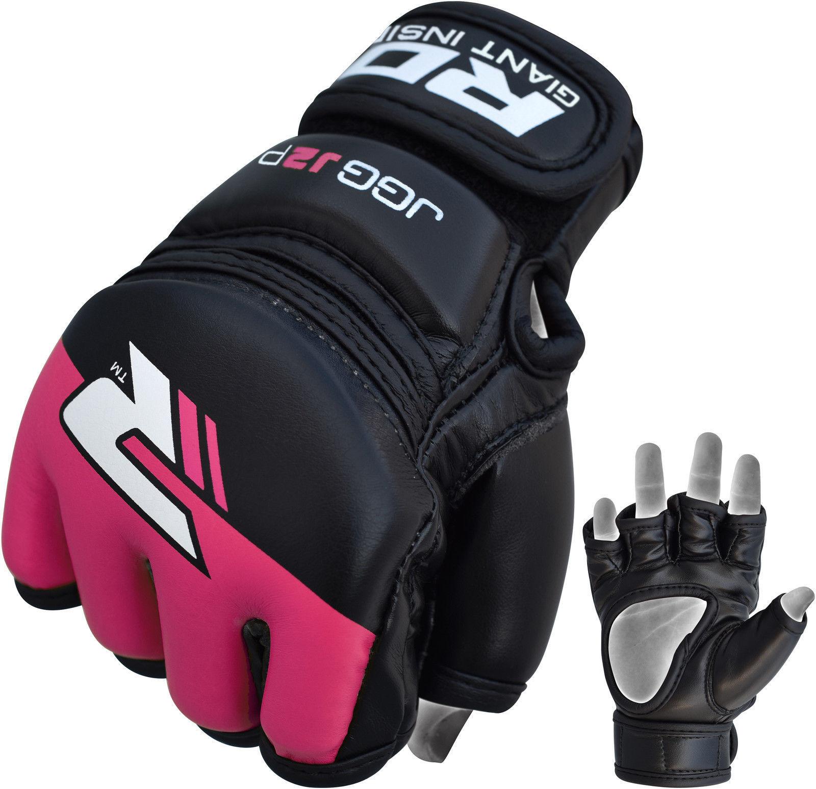 RDX Grappling Gloves Kids – Zwart met groen-538688