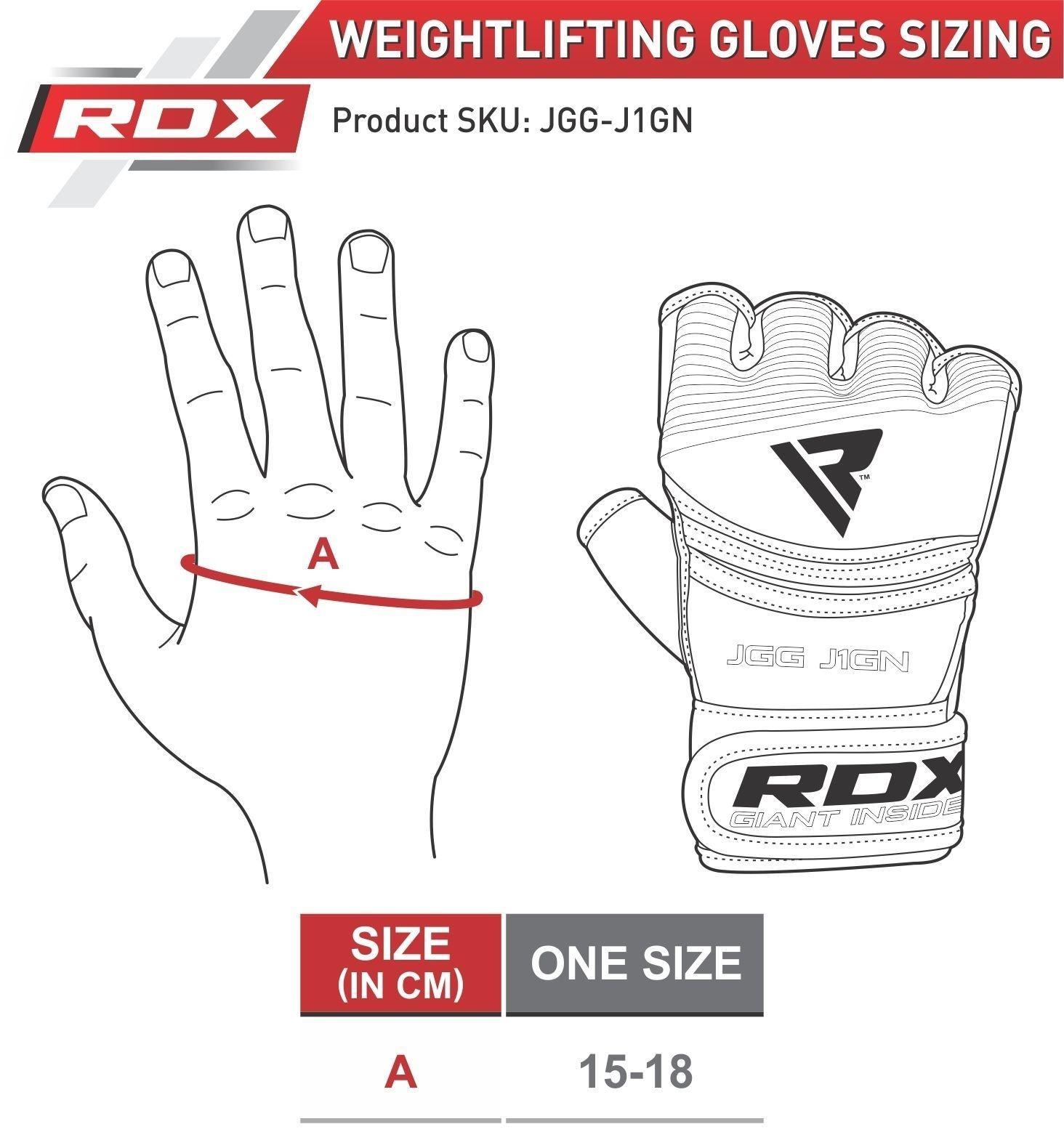 RDX Grappling Gloves Kids - Zwart met groen-538693