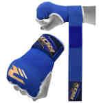RDX Sports Binnenhandschoenen met padding – Blauw-0