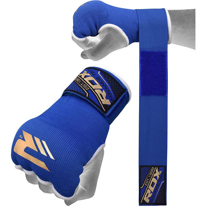 RDX Sports Binnenhandschoenen met padding - Blauw-0