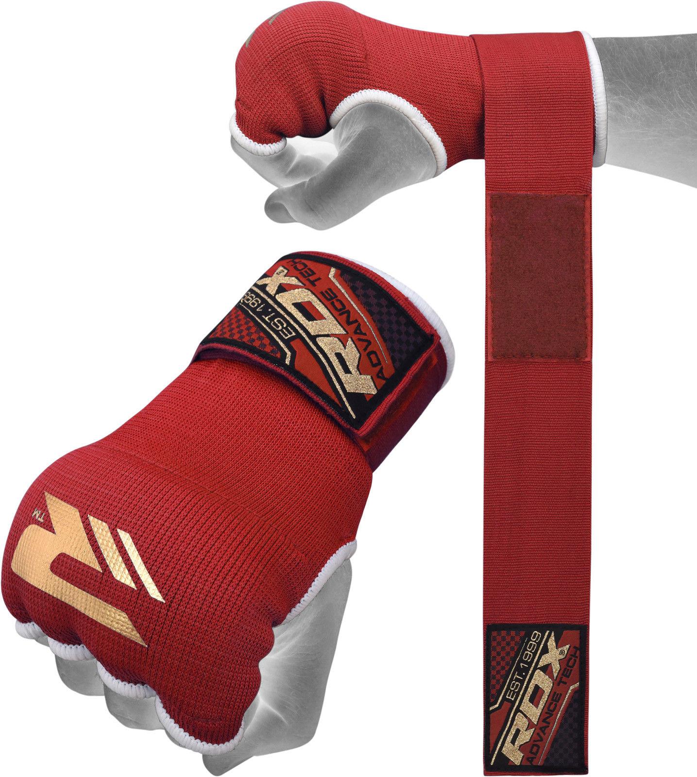 RDX Sports Binnenhandschoenen met padding - Rood-0