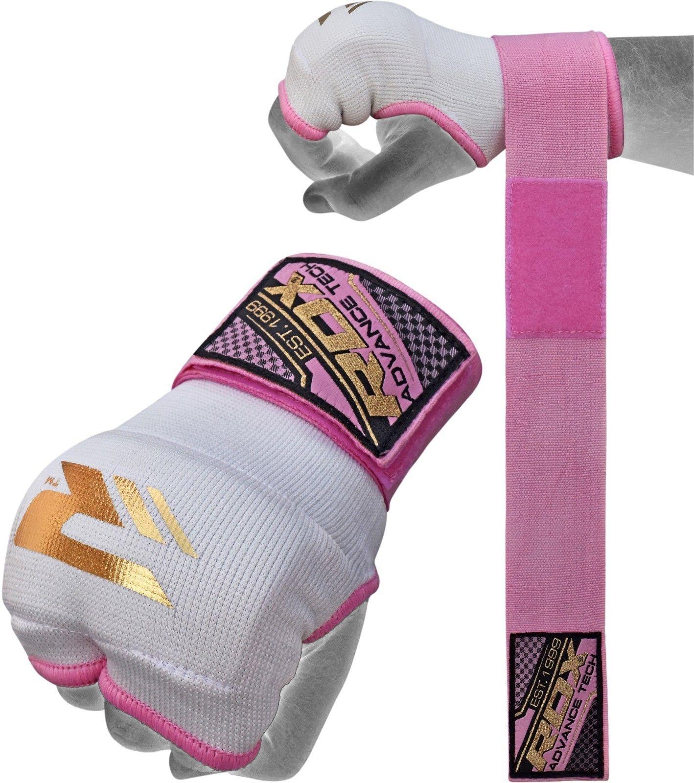 RDX Sports Binnenhandschoenen met padding - Roze-0