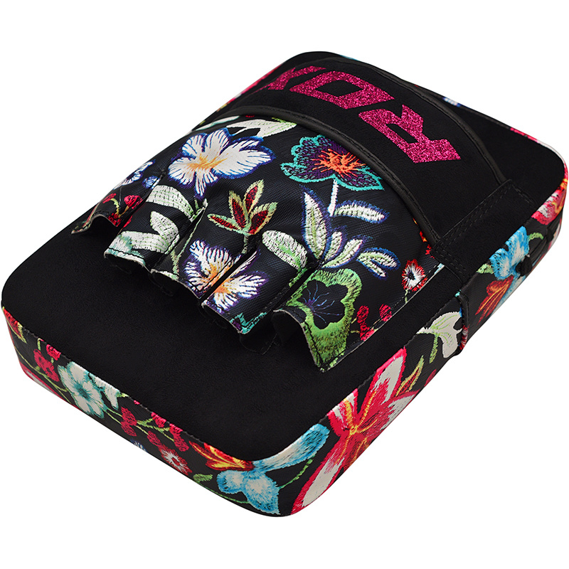 RDX Focus Pads Floral - Zwart met wit-538730