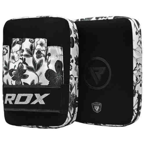 RDX Focus Pads Floral - Zwart met wit-0