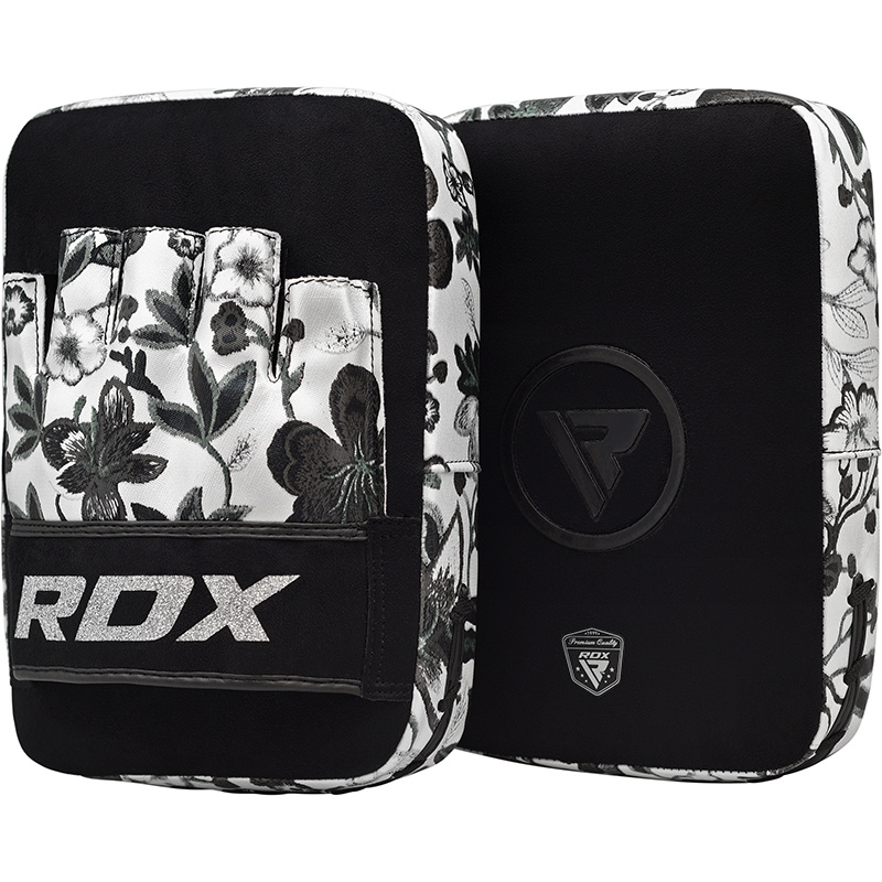 RDX Focus Pads Floral - Zwart met wit-538733