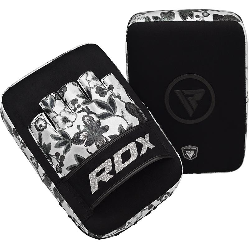 RDX Focus Pads Floral - Zwart met wit-538734
