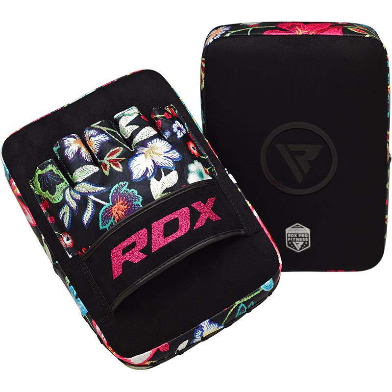 RDX Focus Pads Floral - Zwart met wit-538731