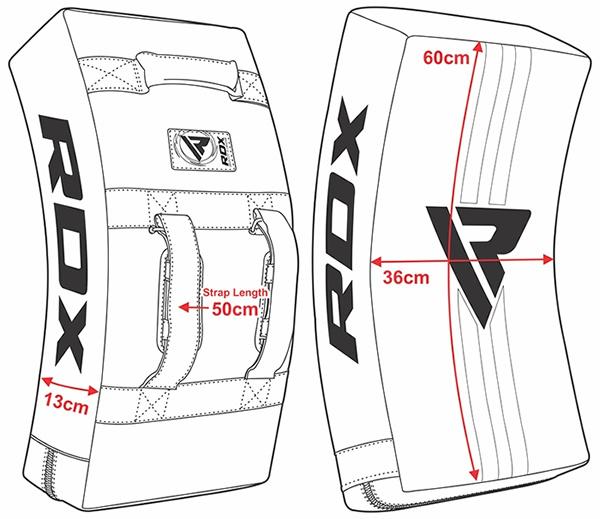 RDX T1 Trapkussen met gelpadding - 60 x 36 x 13 cm-538738