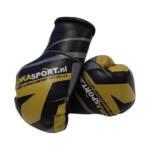 Joka Sport Mini Bokshandschoenen – Zwart, geel met grijs – jokasport.nl