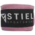 Stiel Bandages – Katoen – Brede Sluiting – 400 cm – Roze – jokasport.nl