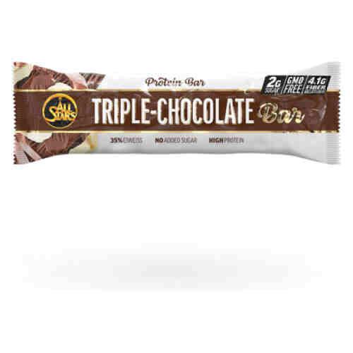 All Stars Eiwitreep - Triple Chocola - per reep - 50 gram