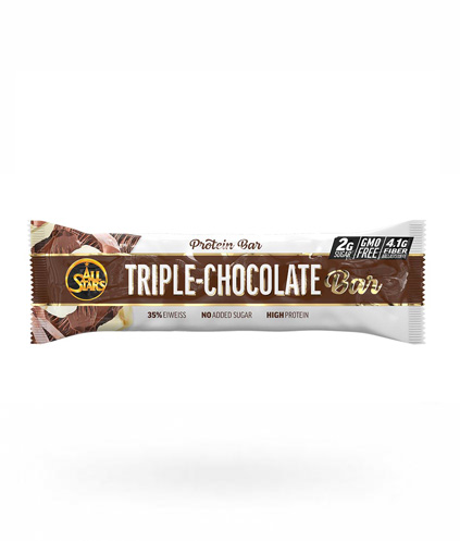 All Stars Eiwitreep - Triple Chocola - per reep - 50 gram