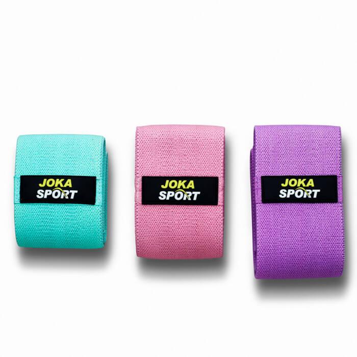 Joka Sport Resistance Bands - Fitness Elastiek - Set van 3 - jokasport.nl