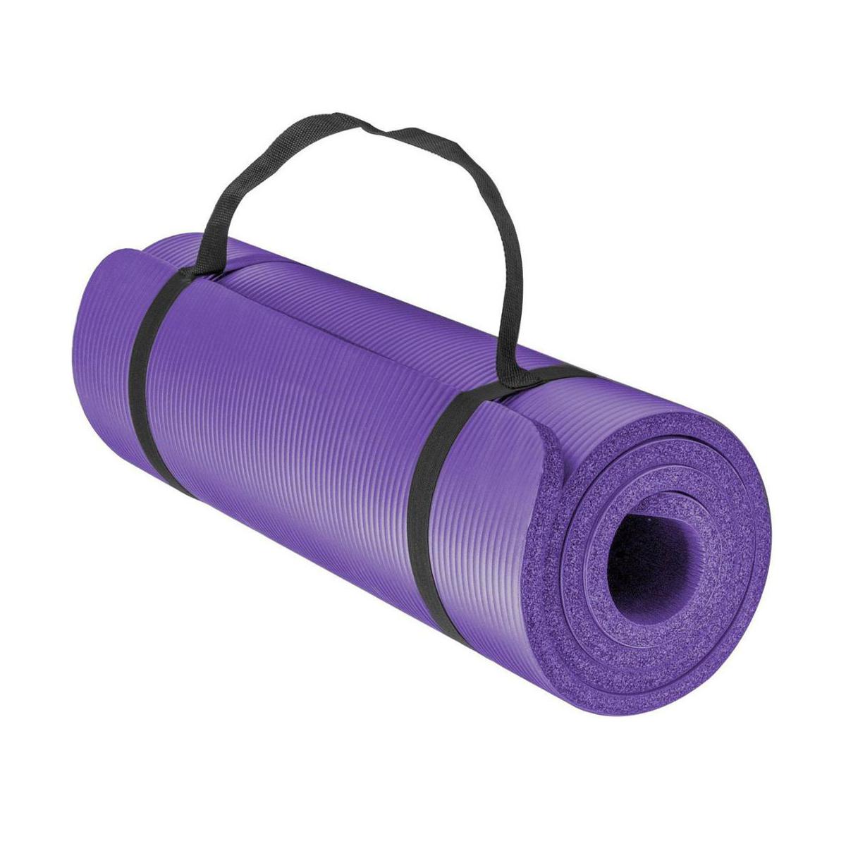 Green Hill Fitness mat – Yoga mat – 180x60x1cm - jokasport.nl