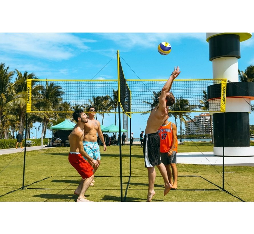 Hammer Crossnet Volleybal Net Four Square 4