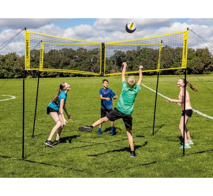 Hammer Crossnet Volleybal Net Four Square 5